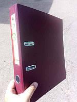 Папка сегрегатор 5см бордовый DATUM