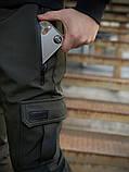 """Теплые штаны Flash """"Intruder"""" хаки + подарок ключница, фото 5"""