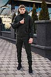 Мужской костюм хаки демисезонный Softshell Intruder. Куртка мужская хаки, штаны утепленные., фото 3