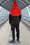 Комплект демісезонний анорак+штани Puma XTG Woven Set (Чорно-червоний), фото 4