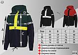 Комплект демісезонний анорак+штани Puma XTG Woven Set (Чорно-червоний), фото 5