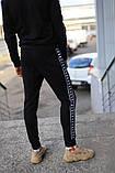 Спортивный костюм чёрный Kappa, фото 2