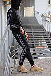 Спортивный костюм чёрный Kappa, фото 7