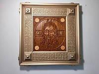 Деревянная Икона( Спас Нерукотворный )