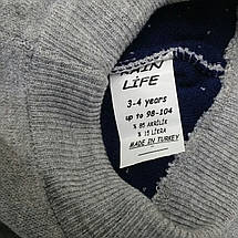 Лосины гамаши детские. Двойная вязка 98-104 см, фото 3