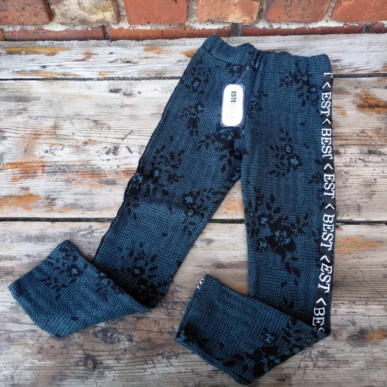 Детские стильные брюки для девочки на 8 лет