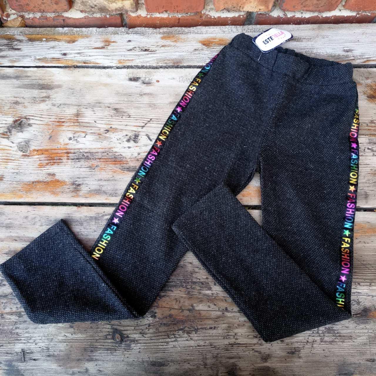 Стильні дитячі штани для дівчинки на 10 років