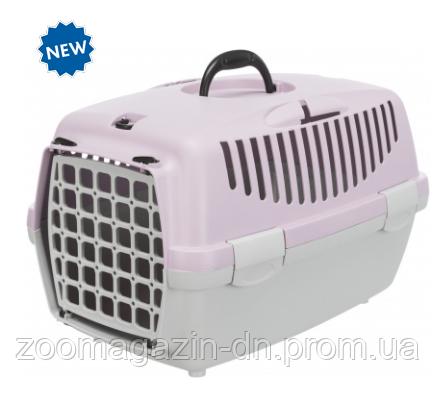 "Переноска для собак""Capri 1"" TRIXIE(max.6кг) 32 x 31 x 48см, светло-серый/светло-сиреневый"