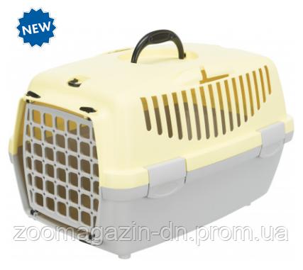 "Переноска для собак""Capri 1"" TRIXIE(max.6кг) 32 x 31 x 48см, светло-серый/желтый"