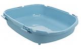 """Туалет для кота """"Primo XXL""""с рамой, Trixie, 56х25х71см, синий/белый, фото 2"""