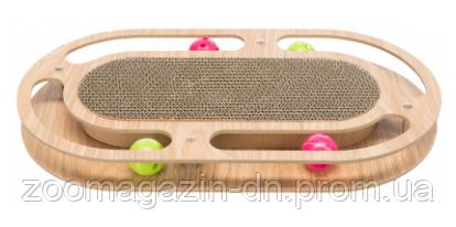 Деревянный драпак с игрушками, TRIXIE, 46х4х25см