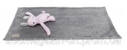 "Набор""Junior""коврик/мишка(плюш), TRIXIE, 75х50см, серый/сиреневый"