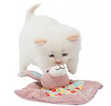 "Игрушка для котят""Junior""-кролик(ткань) ""My Valerian"", TRIXIE, 13х13см, фото 2"