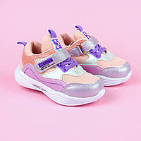 Детские легкие кроссовки для девочки розовые тм Tom.M размер 21,22,23,24