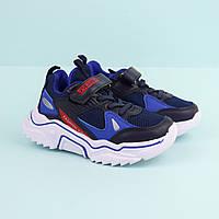 Детские кроссовки для мальчика синие тм Boyang размер 28,29,30