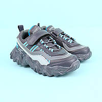 Детские кроссовки для мальчика серые тм Tom.M размер 27,29,30
