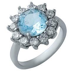 Серебряное кольцо pSilverAlex с натуральным топазом (0437255)