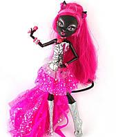 Лялька Монстер Хай Кетті Нуар 13 бажань серія Нічне життя Базова Мonster High Catty Noir Basic Mattel 26 см