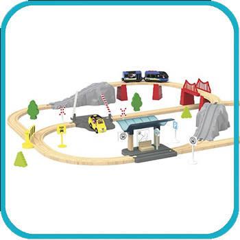 Дерев'яна залізниця Playtive Lillabo