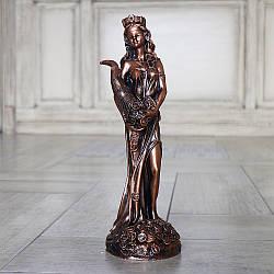 Статуэтка Фортуна 34 см полистоун бронзовый
