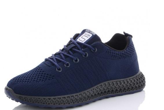 Кроссовки мужские синие Lion-HFX003