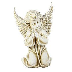 Статуэтка Ангел молящийся 30 см  бежевый