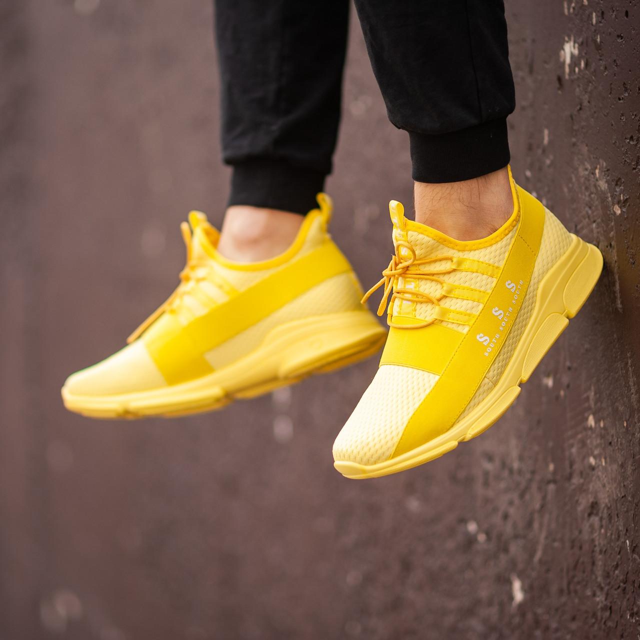 Мужские желтые Кроссовки South Fresh