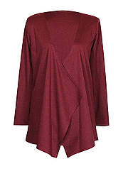 Модный женский кардиган больших размеров / классика и больших размеров для полных