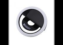 Светодиодное селфи кольцо  USB Кольцо с подсветкой для телефона  Selfie Ring Light RK-12, фото 2