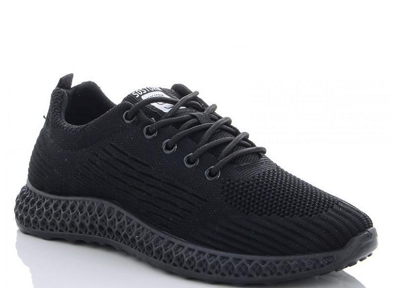 Кроссовки мужские черные Lion-HFX005