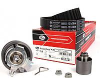 Комплект ремня ГРМ (ремінь+2 ролика) Volkswagen Caddy 1.9 TDI, 2.0 TDI GATES (США)