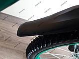 """Велосипед дитячий TT 18"""" легка магнієва рама (5-10 років), зелений, фото 4"""