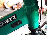 """Велосипед дитячий TT 18"""" легка магнієва рама (5-10 років), зелений, фото 5"""