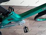 """Велосипед дитячий TT 18"""" легка магнієва рама (5-10 років), зелений, фото 10"""