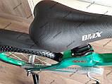 """Велосипед дитячий TT 18"""" легка магнієва рама (5-10 років), зелений, фото 9"""