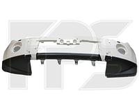 Передний бампер Mitsubishi Pajero Wagon 4 07- без отв. омывателя (верх-под покрас., низ-черн.) 6400B761WB