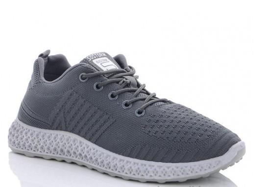 Кроссовки мужские темно-серые Lion-HFX004-d.grey