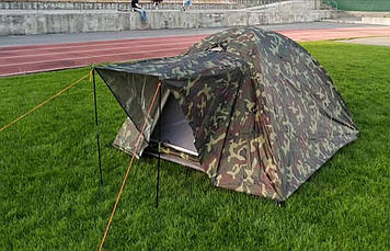 Палатка,четырёх местная,4 местная,двухслойная,намет,с,козырьком