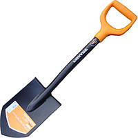 Лопата саперная Фискарс, туристическая лопата Fiskars Solid (131417)