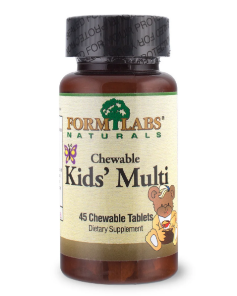 FLN Children's Chewable Multi 45tab - Strawberry