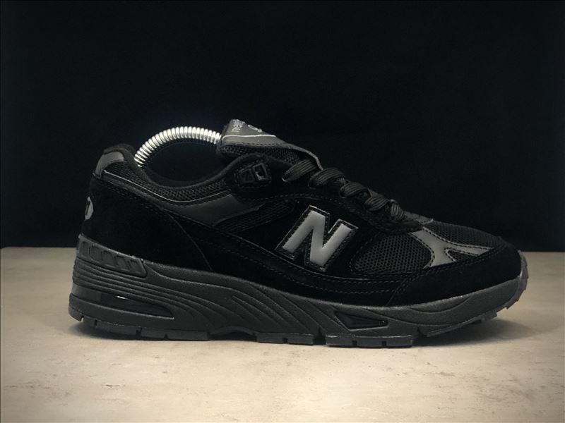 Кроссовки мужские New Balance 991 Triple Black.Стильные кроссовки.
