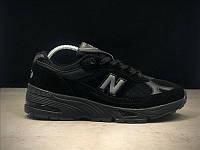 Кроссовки мужские New Balance 991 Triple Black.Стильные кроссовки. , фото 1