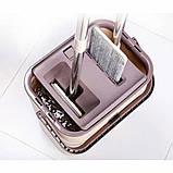"Набор для уборки/Швабра лентяйка с ведром для отжима,""MAXI FLAT MOP"", TM ZAMBAK PLASTIC, фото 5"