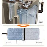 "Набор для уборки/Швабра лентяйка с ведром для отжима,""MAXI FLAT MOP"", TM ZAMBAK PLASTIC, фото 6"