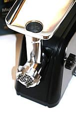 Электромясорубка Domotec MS-2018 1600Вт | Электрическая мясорубка, фото 3