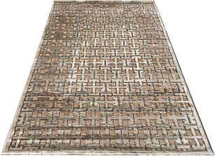 Коврик современный LIZA CHENILLE AI82C 1,5Х2,3 Светло-бежевый прямоугольник