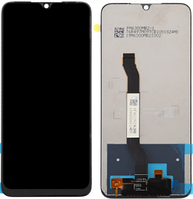 Дисплей модуль для Xiaomi Redmi Note 8T в зборі з тачскріном, чорний, High Copy