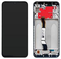 Дисплей модуль для Xiaomi Redmi Note 8T в зборі з тачскріном, чорний, з рамкою, Original