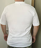 Футболка Поло  мужская (белая)., фото 2