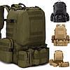 Рюкзак армейский, военный с подсумками B08 55 л (53х35х22 см), фото 3